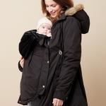 Colline babywearing coat
