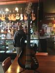 Squier Deluxe Active Jazz Bass