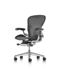 Aeron Chair, Graphite, Size B