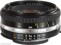 50mm f/1.8 Nikon (EF Adapter inluded)