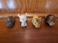 Animal Finger Puppets African