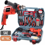 Power drill and hand tool set
