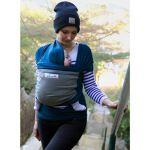 Je Porte Mon Bebe Stretchy Wrap (2)