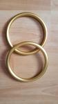 Sling Rings - matte gold