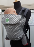KahuBaby Cloudy Spot Baby Carrier
