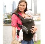 Manduca baby carrier - black