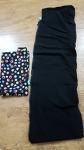 Slingy Woo coat extension panel - black fleece