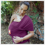 Hana Baby Stretchy Wrap - Purple