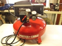 Air Compressor, Porter Cable 135 PSI