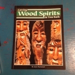 Carving Wood Spirits in Tree Bark