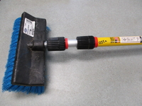 extension pole with wash brush