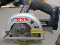 Battery Operated Circular Saw