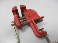 """Clamp-On Bench Vise - 3"""""""