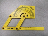 carpenter's protractor