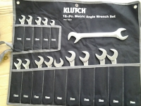 Metric Angle Wrench set 15 pieces