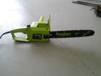 Poulan 14 inch electric chainsaw