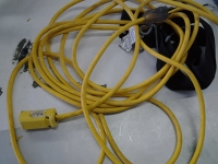 Extension cord yellow