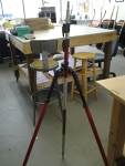 Tripod with level