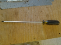 10-inch Phillips screwdrivier