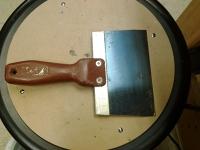 6-inch scraper