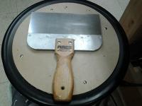 8-inch scraper