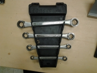 4-piece English Ratcheting Wrench Set