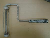 9 inch roller frame