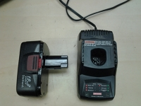 Weed wacker and blower battery and charger