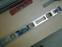 24-inch aluminum level