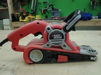 Black and Decker Belt Sander - no bag
