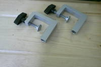Aluminum Clamps 1of 2 of paired set (w/ 10480)