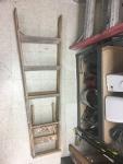 5-foot wooden ladder