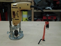 "3/8"" electric drill with guide"