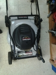 Task Force Electric lawnmower