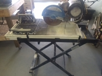 Wet Tile Saw (with stand)