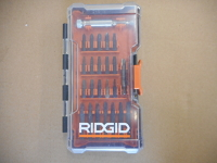 Rigid driving bit set