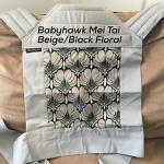 Babyhawk Meh Dai - Beige/black floral