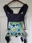 Action Baby Carrier - Chene (Blue Floral)