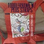Babyhawk Meh Dai - Toddler Orange with birds