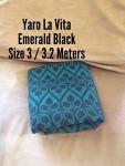 Yaro - Size 3 - La Vita Emerald Black