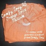 Comfy Joey Linen - Orange Spice