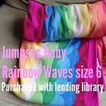 Jumpsac Rainbow - size 6