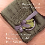Little Peepers Keepers Evergreen Double Silk