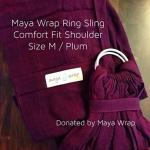 Maya Wrap - Plum - Comfort Fit - Medium