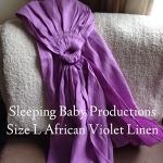 SBP African Violet - Large - Pleated
