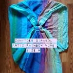 Zanytoes Girasol - Arctic Rainbow - Size M Pleated
