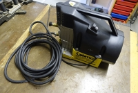 Air compressor plus nail gun and spraying accessories