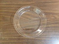 Pie Plate Glass