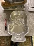 Doll girl cake pan