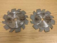 Dado Saw blades (x2)